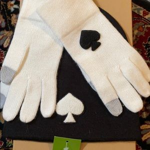 kate spate gloves & hat